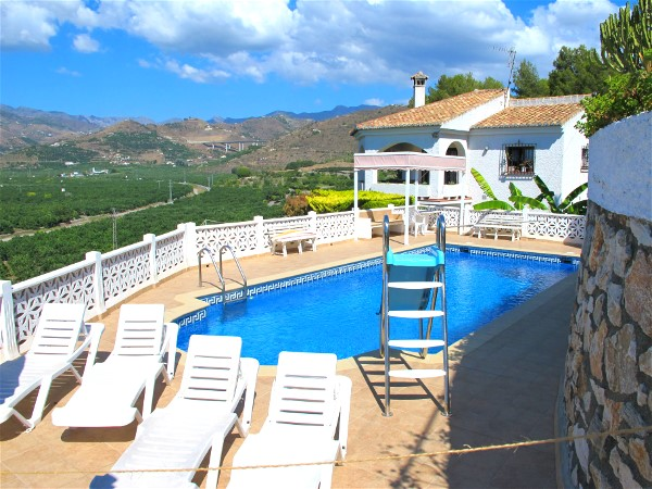 Appartement Nuestro Sueno in Almunecar mit privatem Pool