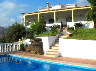 Villa Axarquia in Torrox mit privatem Pool